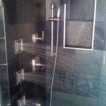 Photo of Shower Remodel by Artisan Construction, 7321 N Antioch Gladstone, MO 64119