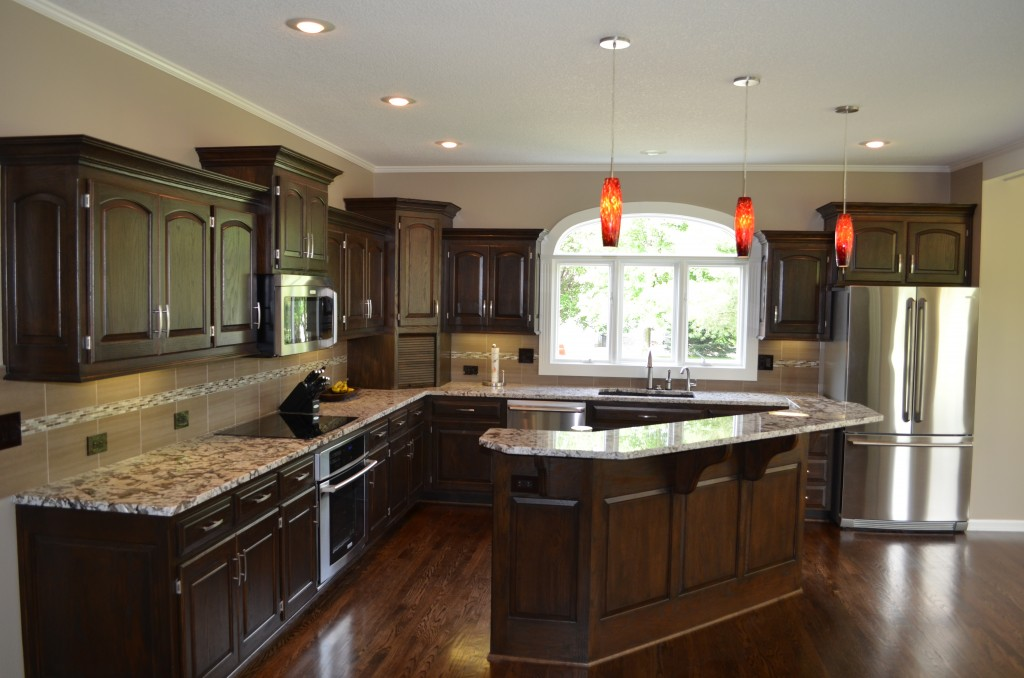Kitchen remodeling kitchen design kansas city for Kitchen renovation pictures