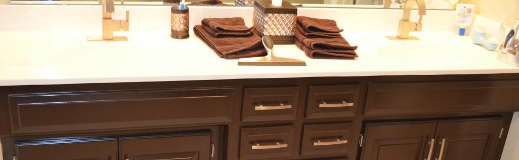 Bathroom counter top remodel
